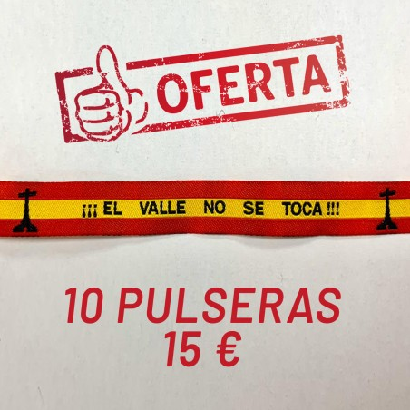 Oferta pulseras El Valle no se toca
