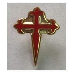 Pin Silueta Cruz de Santiago
