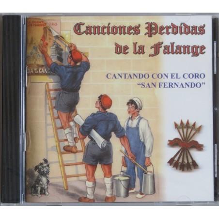 CD Canciones perdidas de la Falange