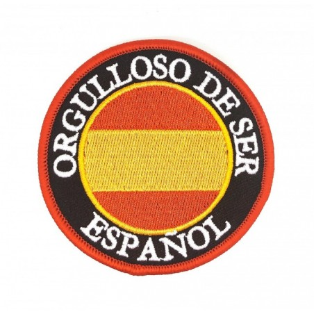 Parche orgulloso de ser español