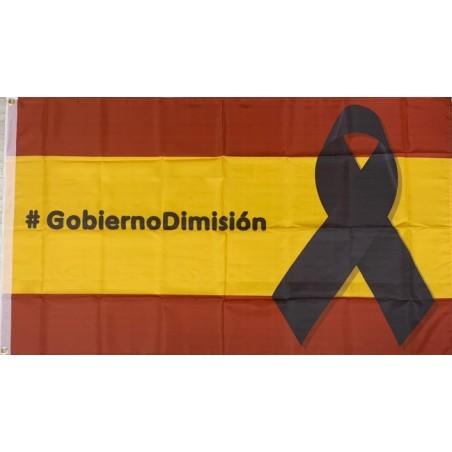 Bandera Gobierno Dimisión
