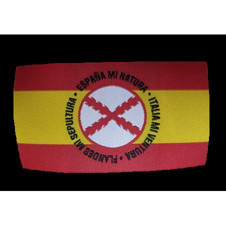 Parche Bandera España Lema Tercios