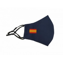 Mascarilla Azul Bandera de...