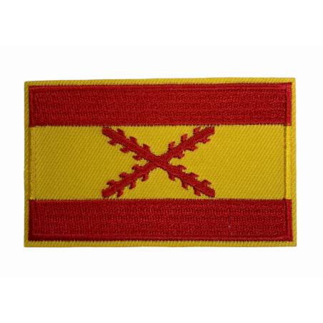 Parche Bandera España Aspa San Andrés