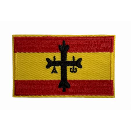 Parche Bandera de España Cruz de la Victoria