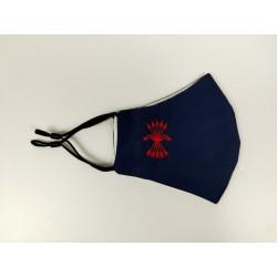 Mascarilla Azul Yugo y Flechas