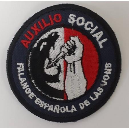 PARCHE  EMBLEMA AUXILIO SOCIAL
