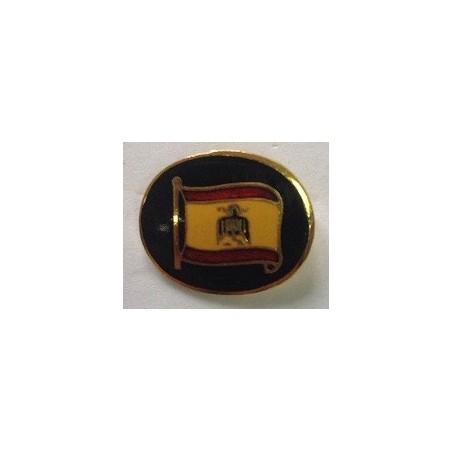 Pin Ovalado Bandera de España Águila de San Juan