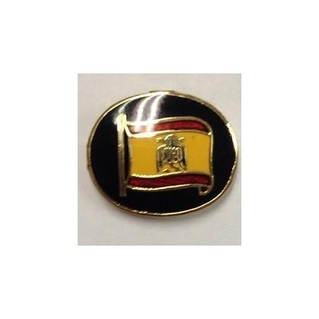 Pin Ojal Ovalado Bandera España Águila