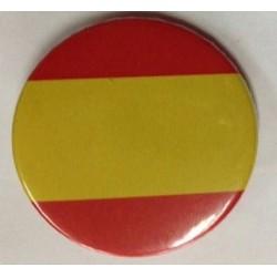 Chapa Redonda Bandera España