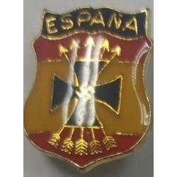 Alfiler Escudo División Azul