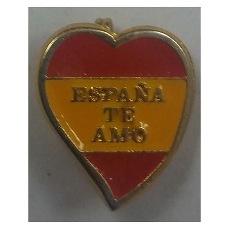 Alfiler Solapa Corazón España Te Amo