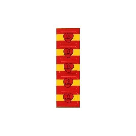 Pegatina de reloj  Bandera de España Te Amo.