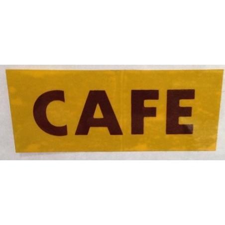 Pegatina CAFE.