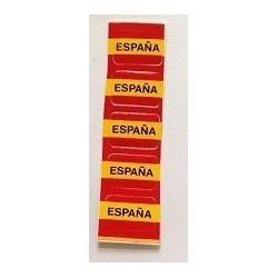 Pegatina de reloj España.