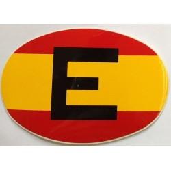 Pegatina Bandera España con...