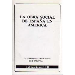 La obra social de España en...