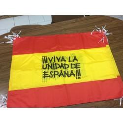 Bandera Viva la Unidad de...