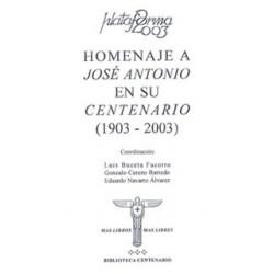 Homenaje a José Antonio