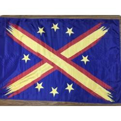 Bandera Unión Europea tachada