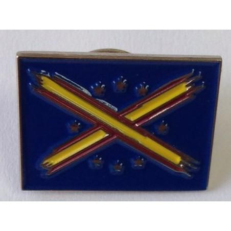 Pin Bandera Unión Europea tachada
