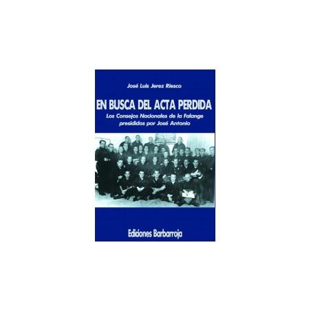 EN BUSCA DEL ACTA PERDIDA